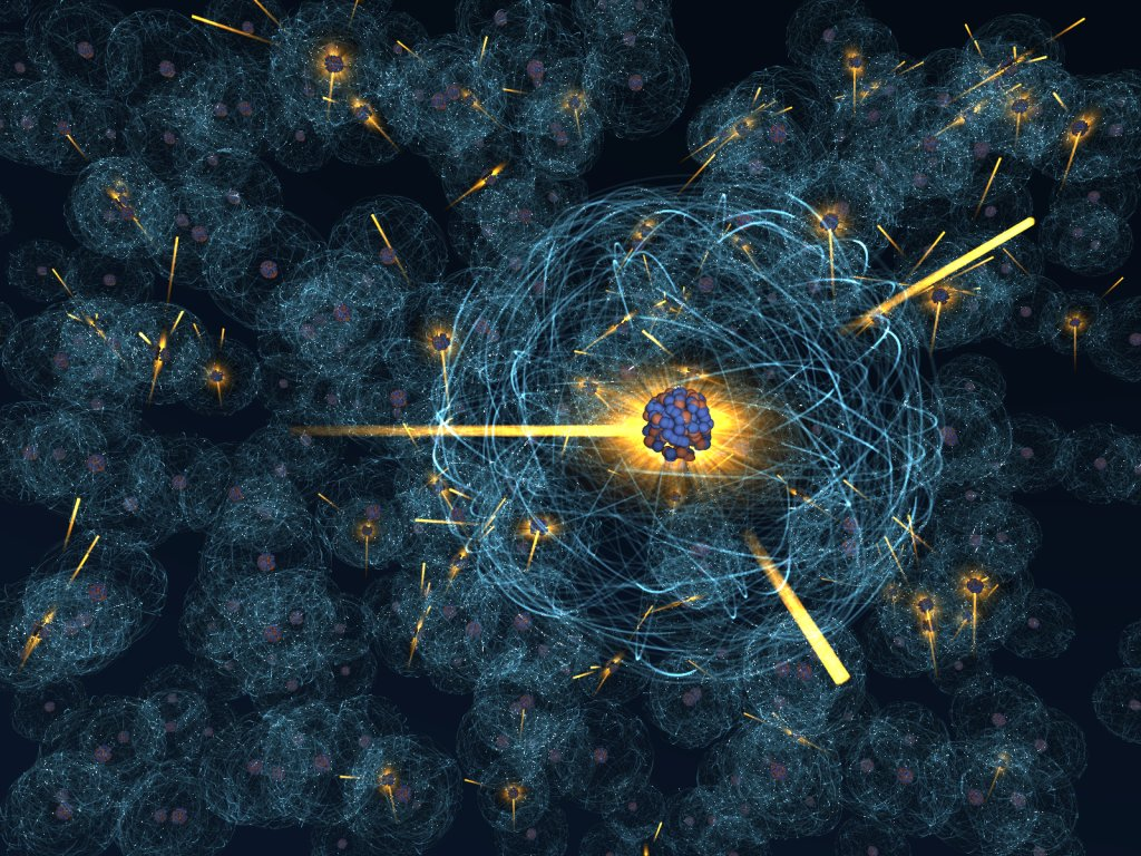 Fission in the SunNuclear Atoms Wallpaper